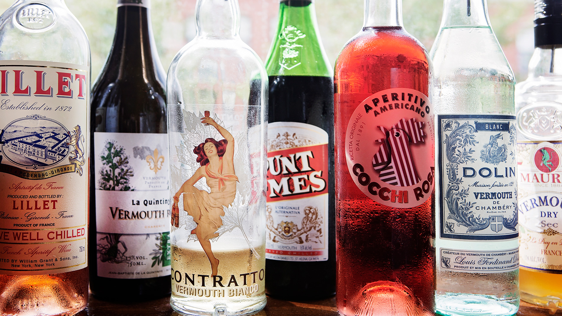 vermouth is an aperitif wine that's fortified and aromatized