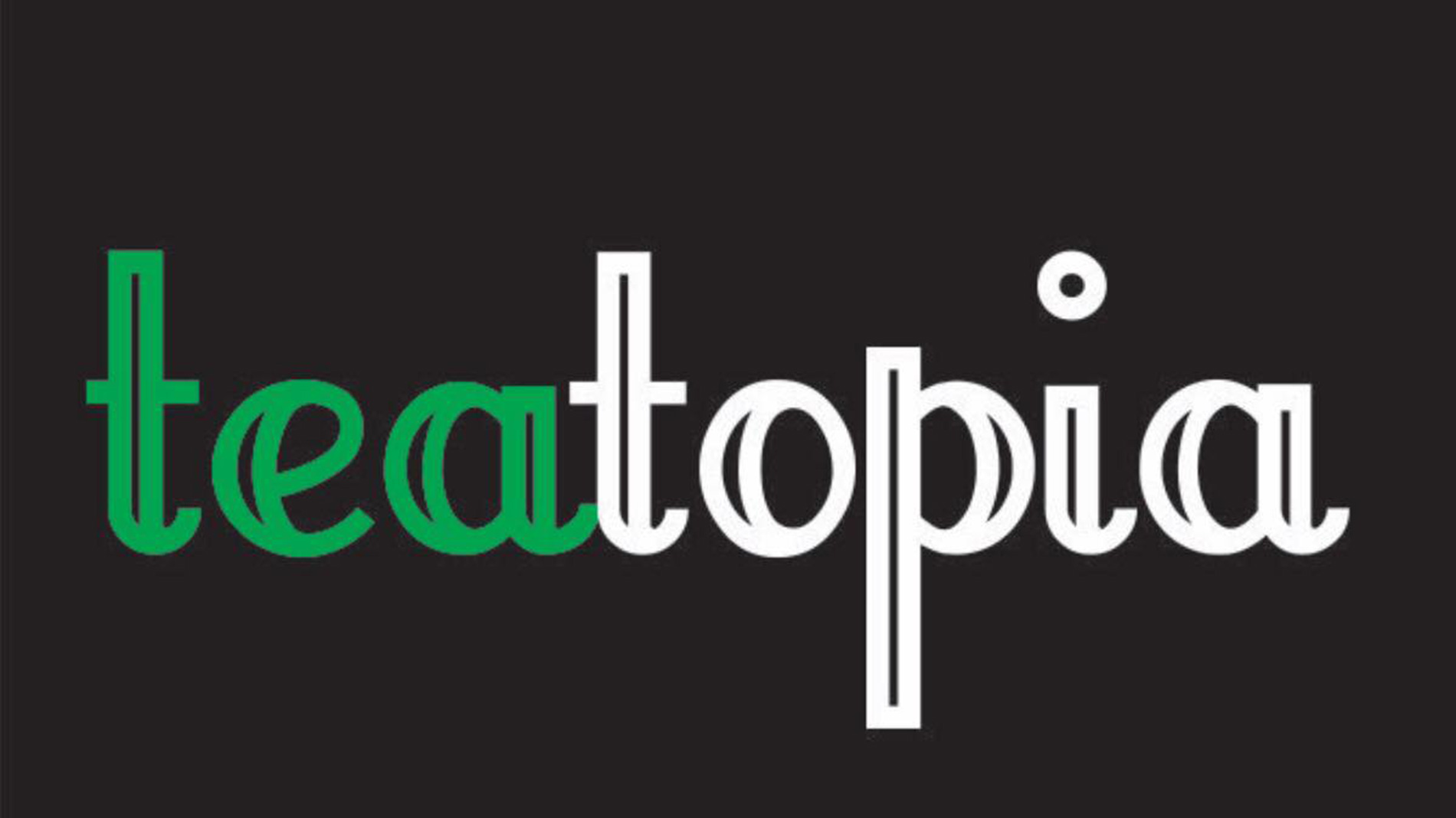 logo for teatopia on cherokee street in south city