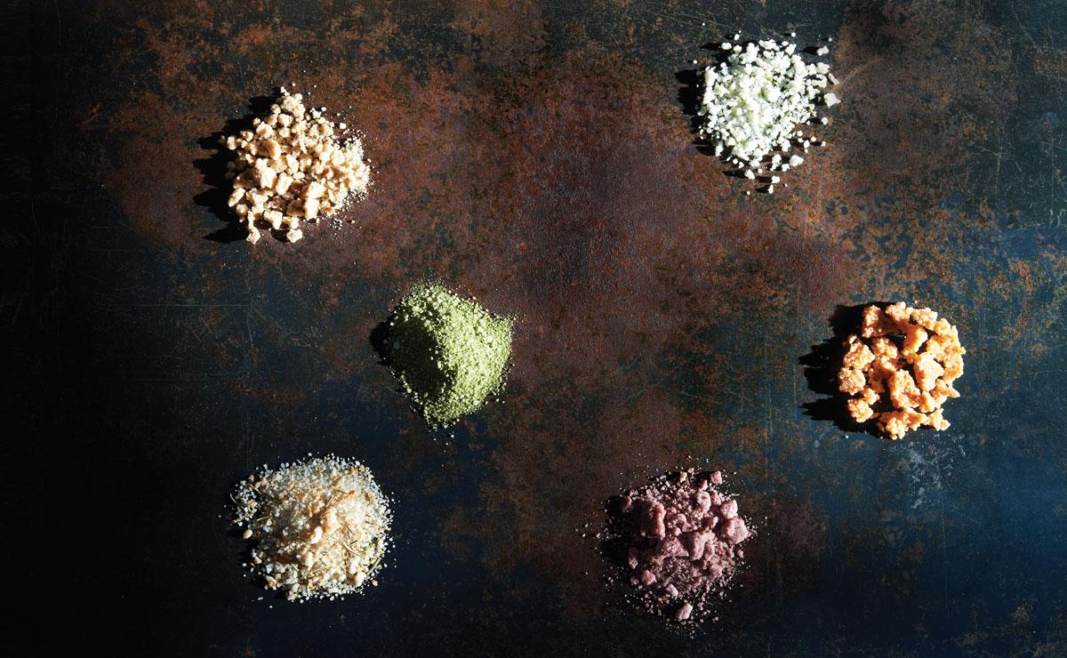 ginger-lime salt
