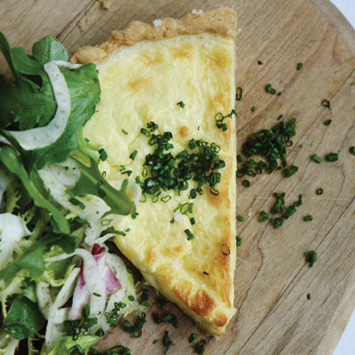 Brasserie by Niche's Goat Cheese Tart with Fennel Salad