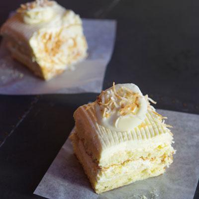Piccione Pastry's Coconut Cassata Cake