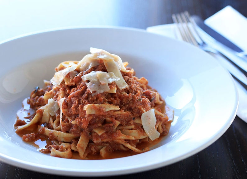 Bolognese at Del Pietro's in Richmond Heights