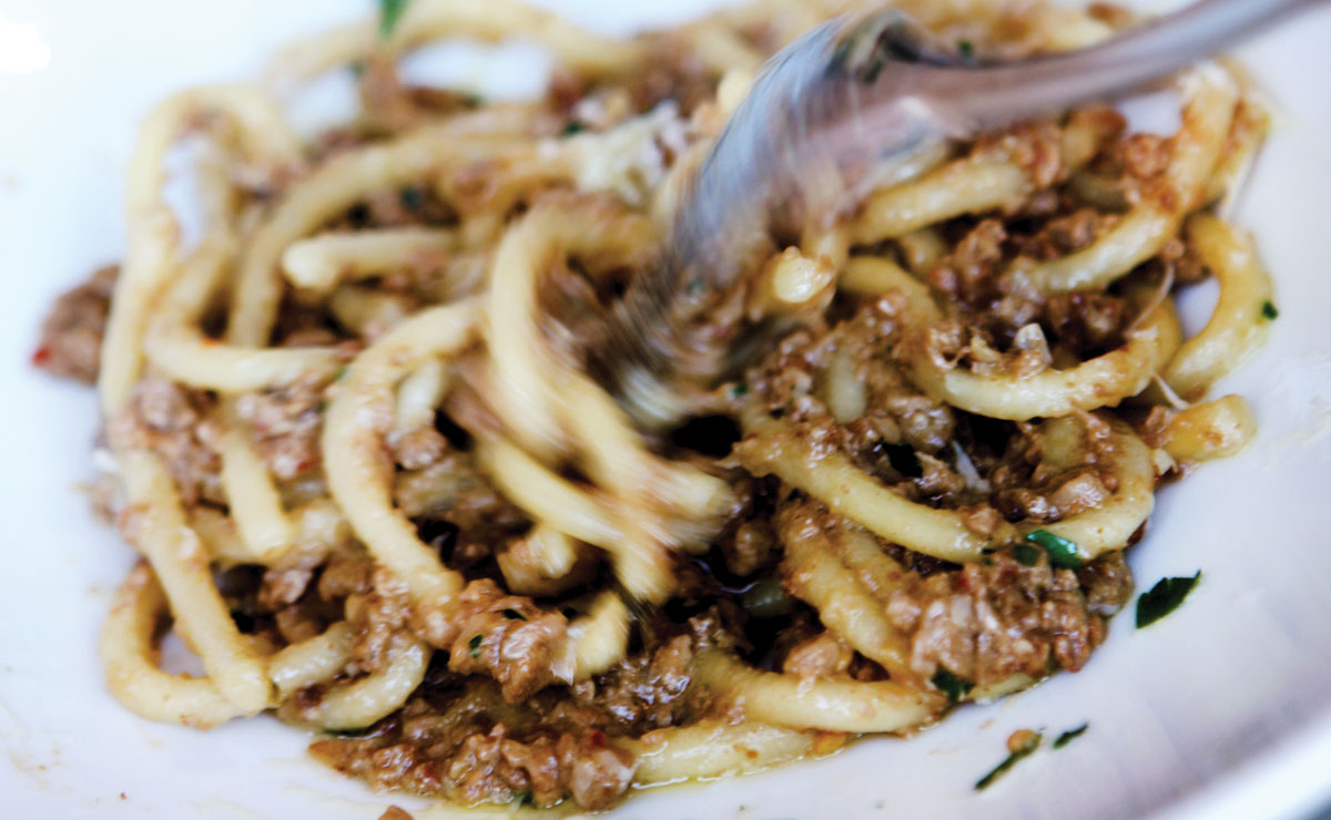 pastaria's bolognese