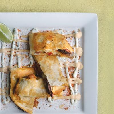 Sage Urban American Grill's quesadilla