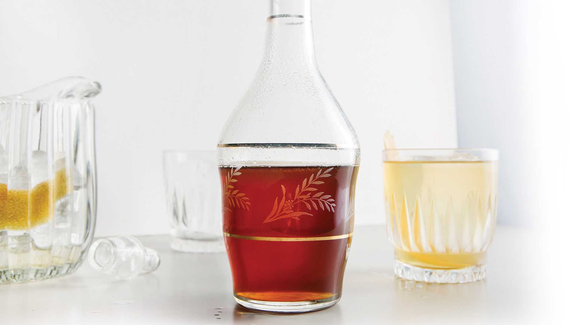 beer syrup made from a hoppy beer and sugar
