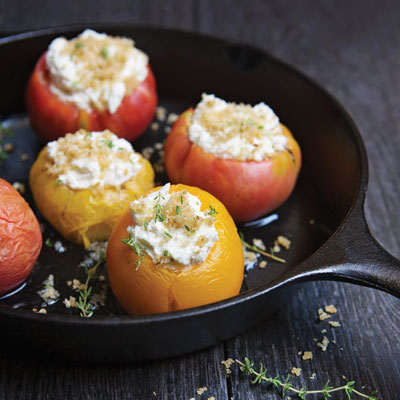 Goat Cheese-Stuffed Roasted Tomatoes