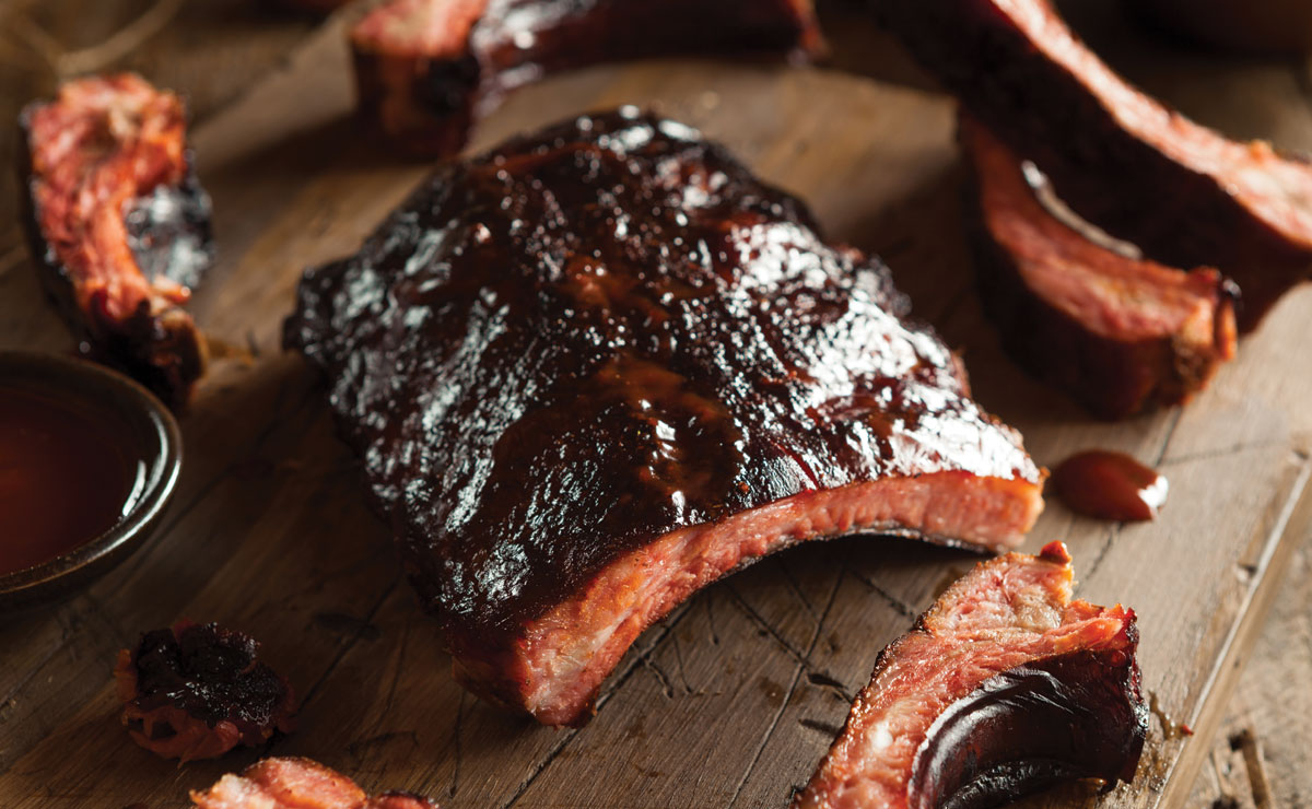 Curried Barbecue Spare Ribs