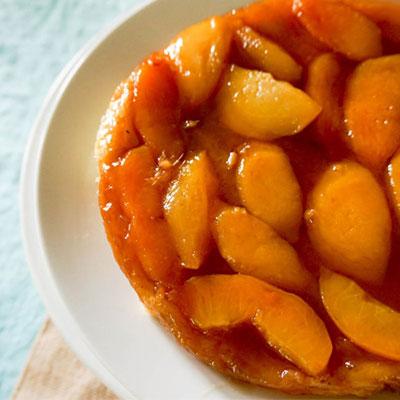 Ginger Peach Tarte Tatin