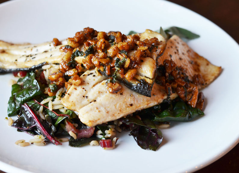 House Trout at Brick River Cider Co. in downtown St. Louis