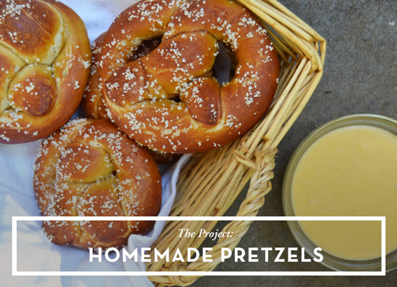 The Weekend Project: Pretzels and Beer Cheese