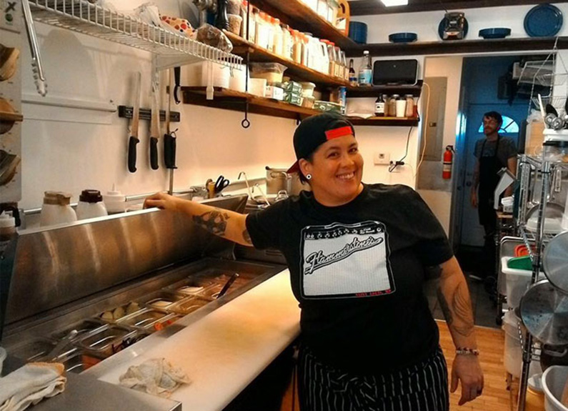 the little dipper chef-owner tanya brown
