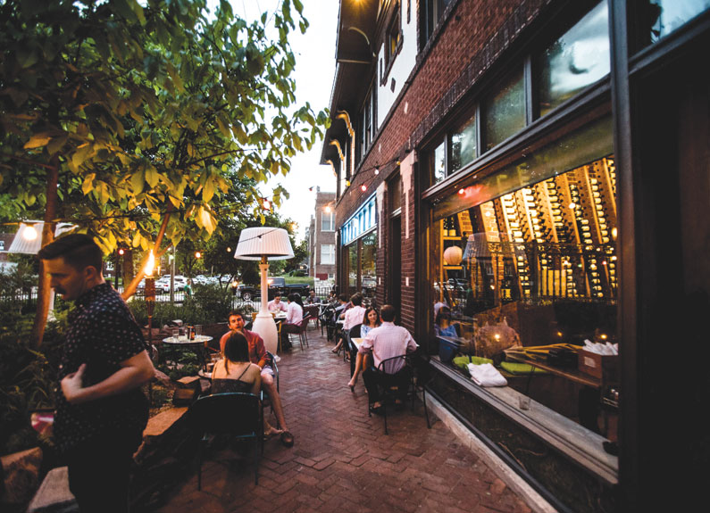 Sasha's on Shaw is just one great patio spot in St. Louis.