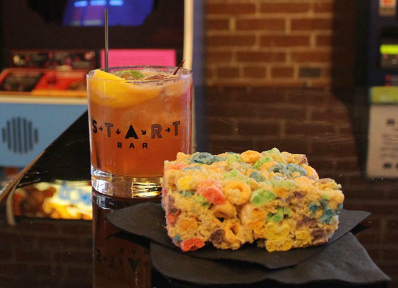don't miss the happy hour specials at start bar on wednesdays