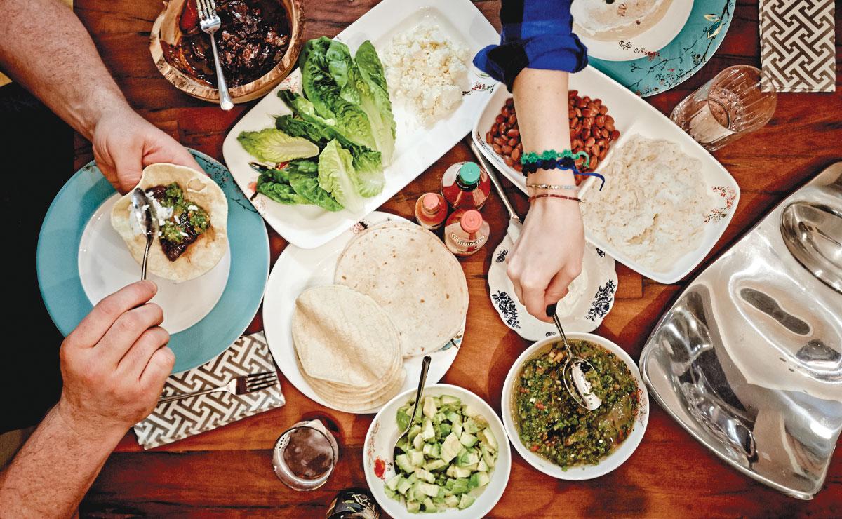 Basso's Short rib tacos with pico de gallo