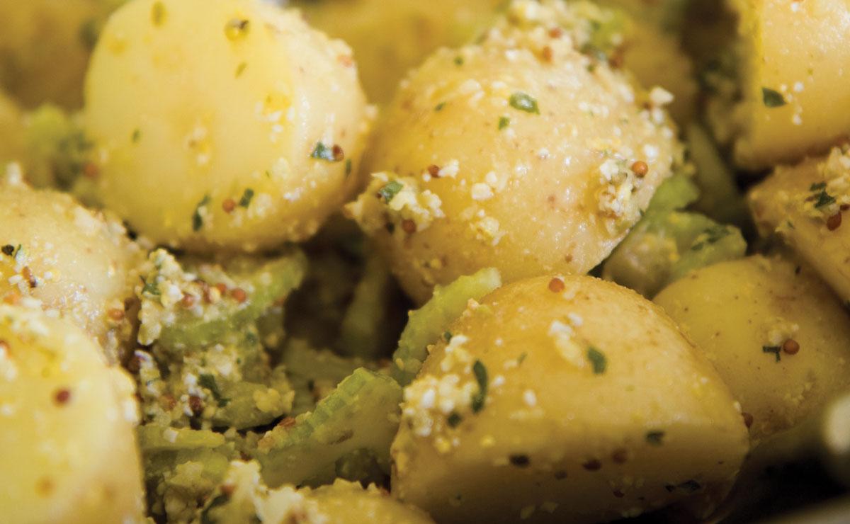 Potato Salad With Sauce Gribiche