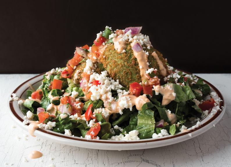 avocado salad at southwest diner in maplewood missouri