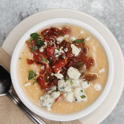 trattoria marcella's cantaloupe soup