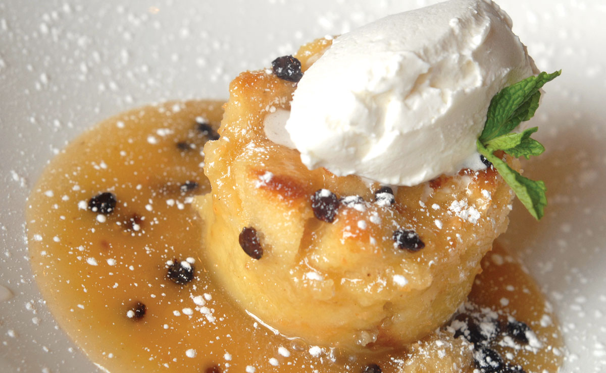 harvest's bread pudding