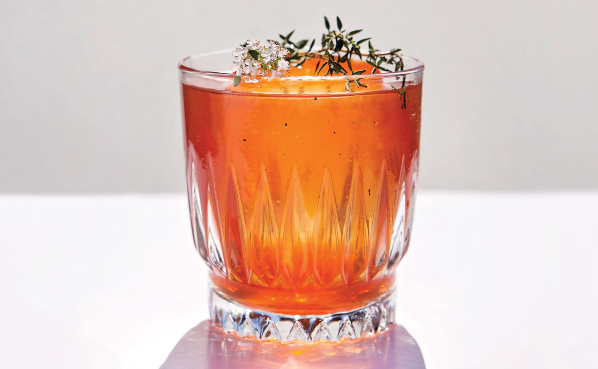 right on thyme cocktail