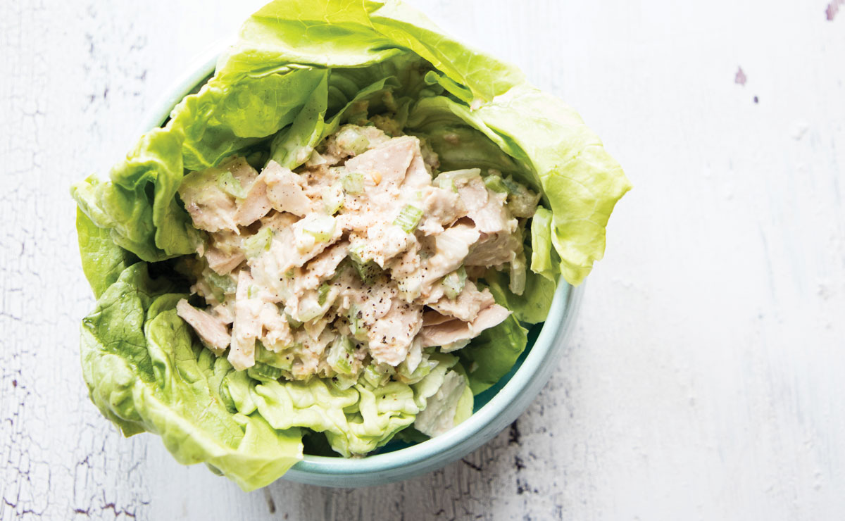 miso tuna salad