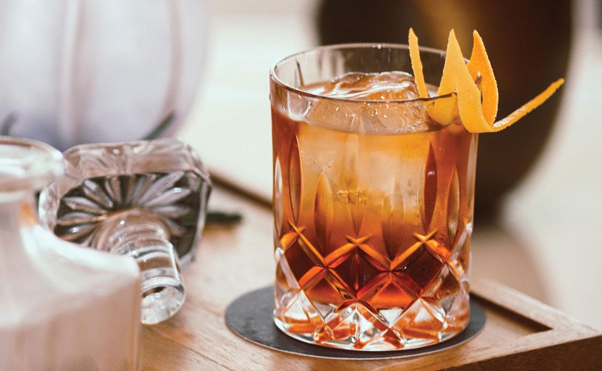 americano highball cocktail