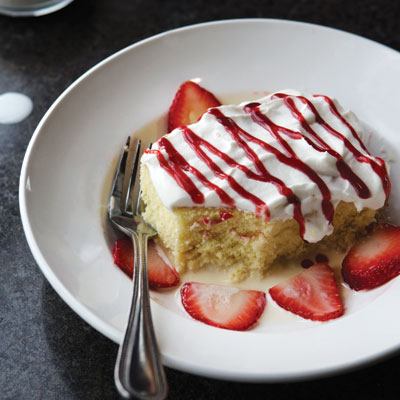 Milagro Modern Mexican's Tres Leches Cake
