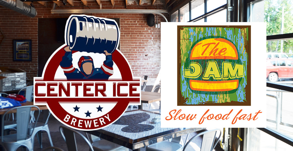 The Dam and Center Ice Beer Dinner