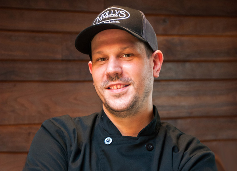 Molly's in Soulard's new executive chef, Brandon Busby