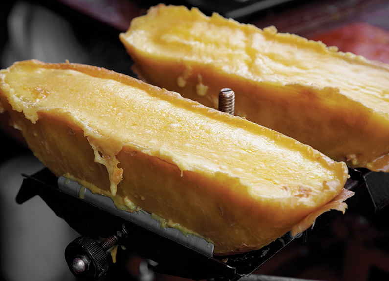 raclette cheese is melting hearts at urban chestnut, the crossing and frankly sausages