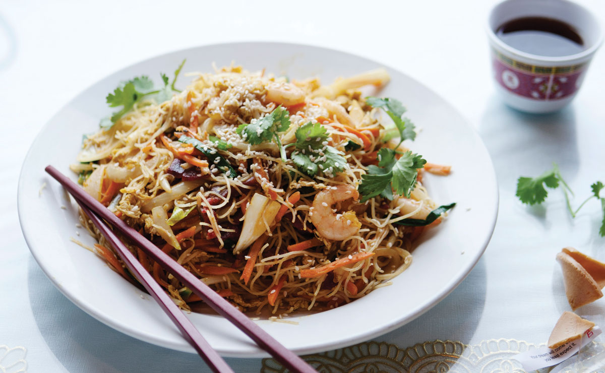 Lu Lu Seafood and Dim Sum's Singapore Noodles