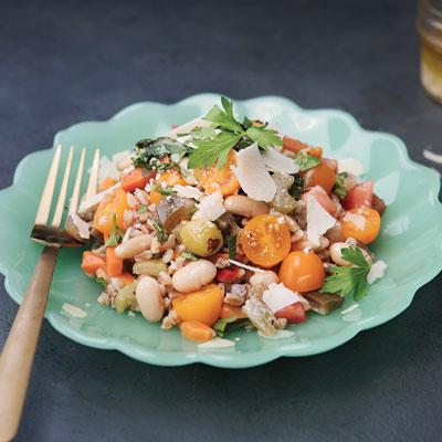 Farro Salad with Giardiniera