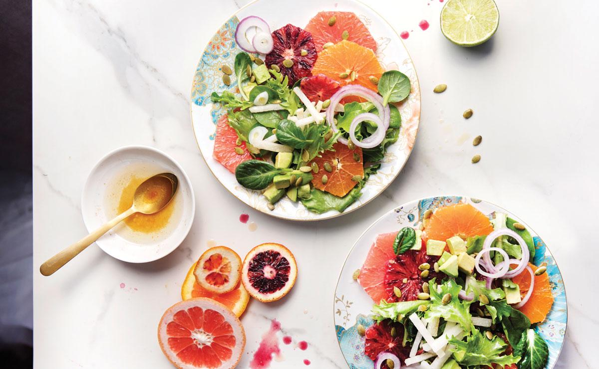 Citrus-Avocado Salad