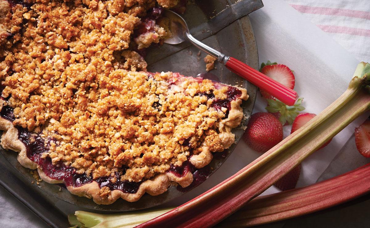 Pie Oh My!'s Struebarb Pie