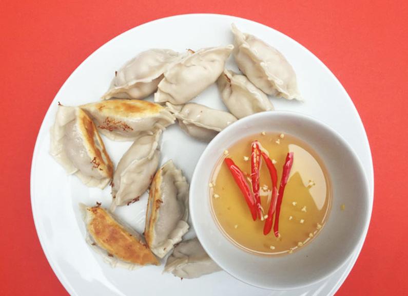Thai Green Curry Dumplings