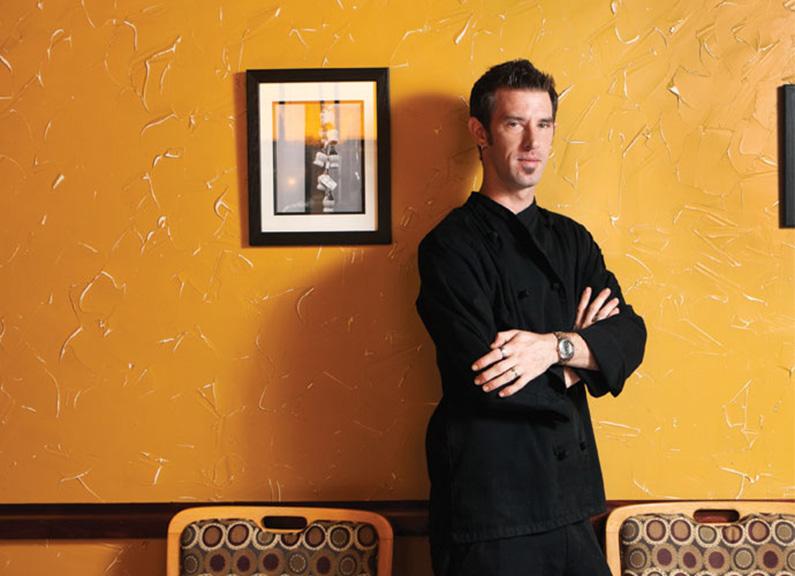 executive chef of west end grill & pub carl hazel