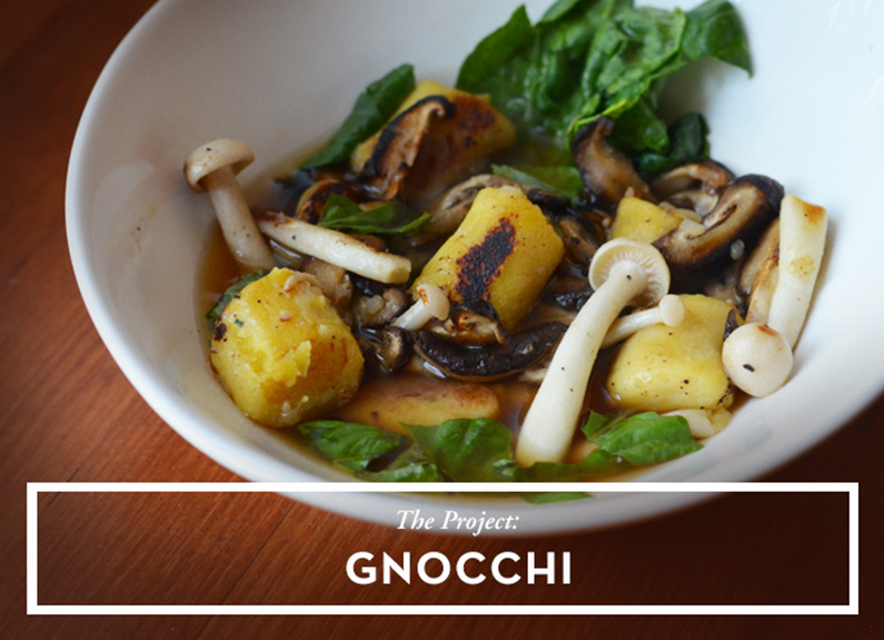 the weekend project: gnocchi