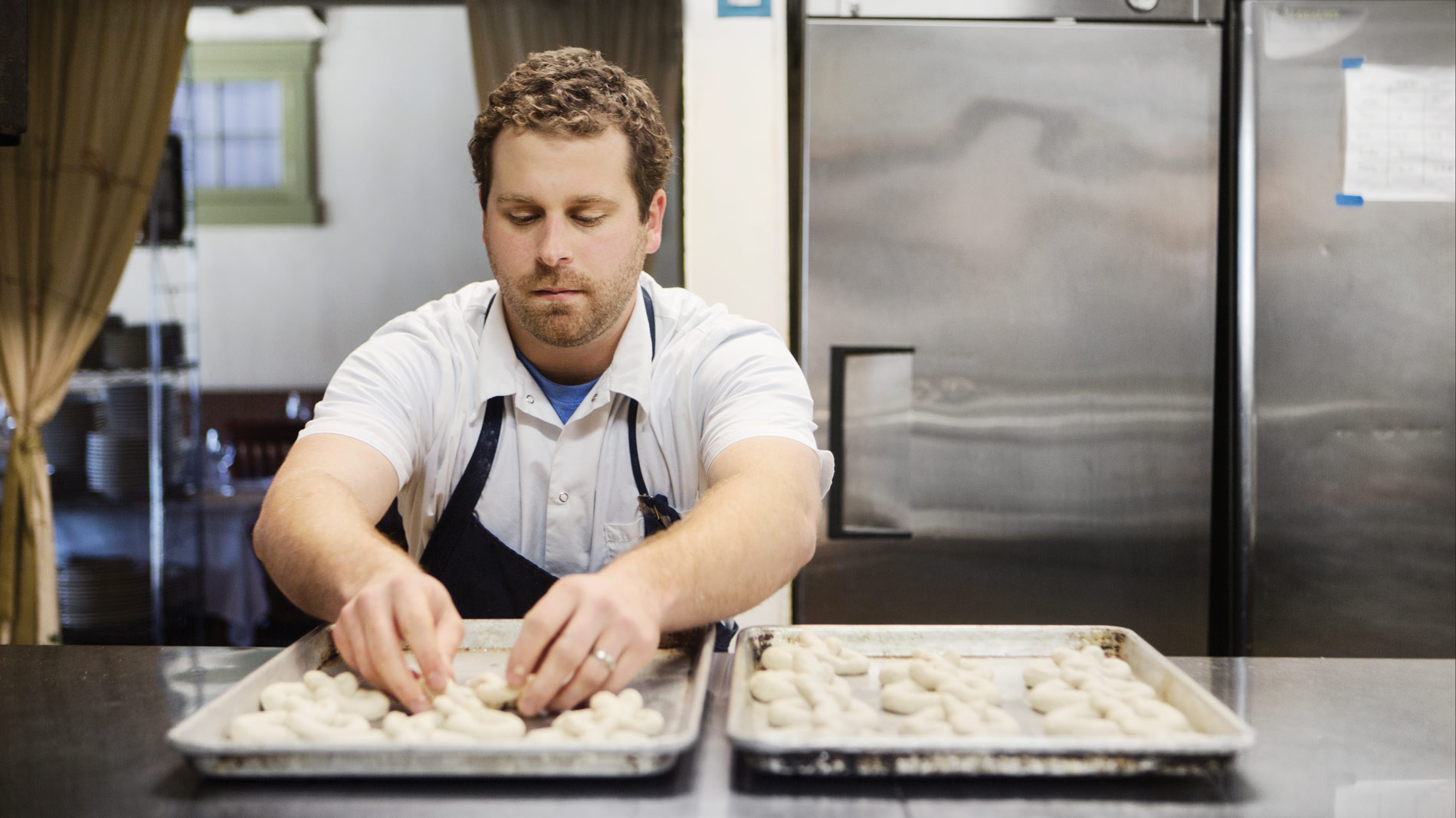 chef jake sciales at farmhaus in st. loui