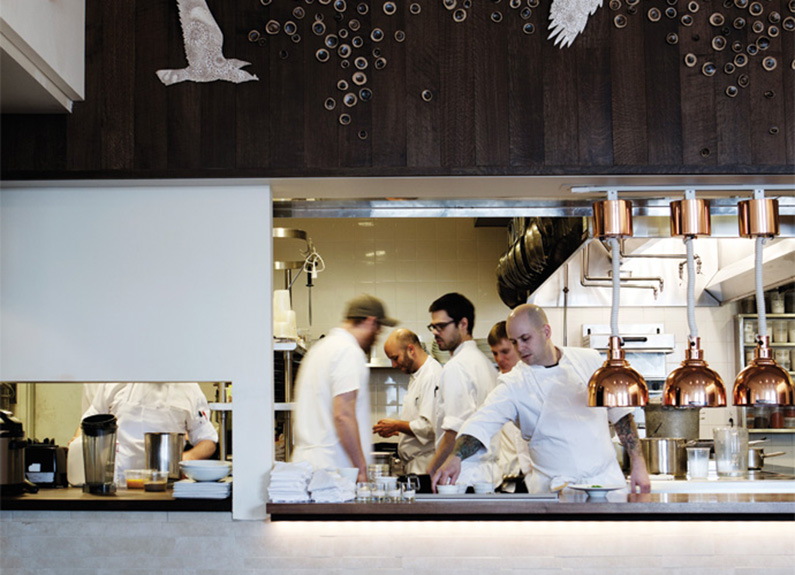 the kitchen at niche in clayton