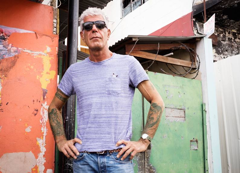 chef and cnn host anthony bourdain