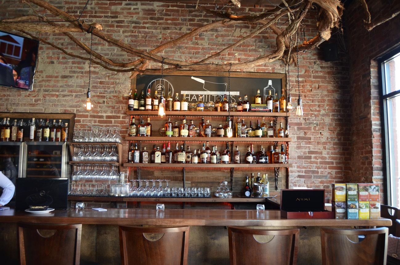 Sauce Magazine - First Look: Hamilton's Urban Steakhouse & Bourbon on urban barbecue, urban breakfast, urban street food, urban coffee house, urban sports bar,