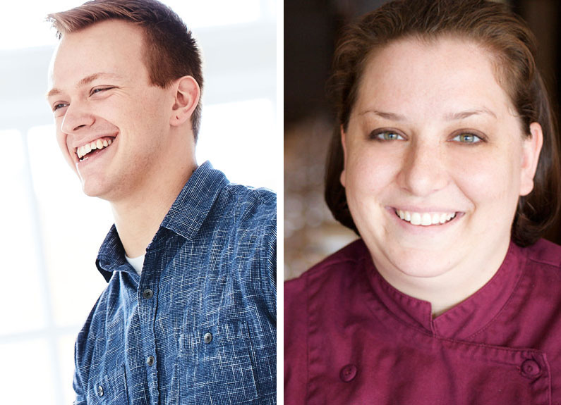 st. louis chefs josh charles and cassy vires