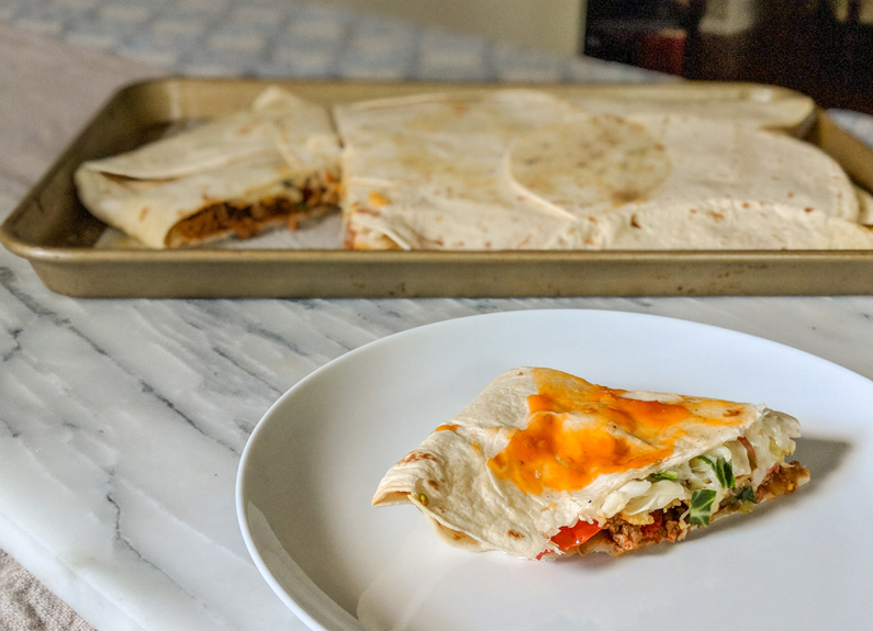 Recipe: Sheet Pan Southwest Crunchwrap Supreme
