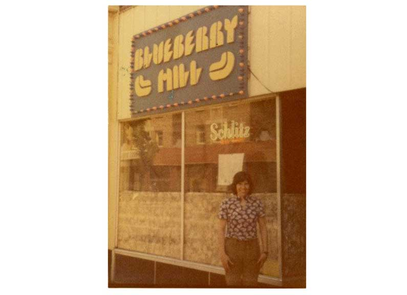 1972 exterior of blueberry hill on the delmar loop