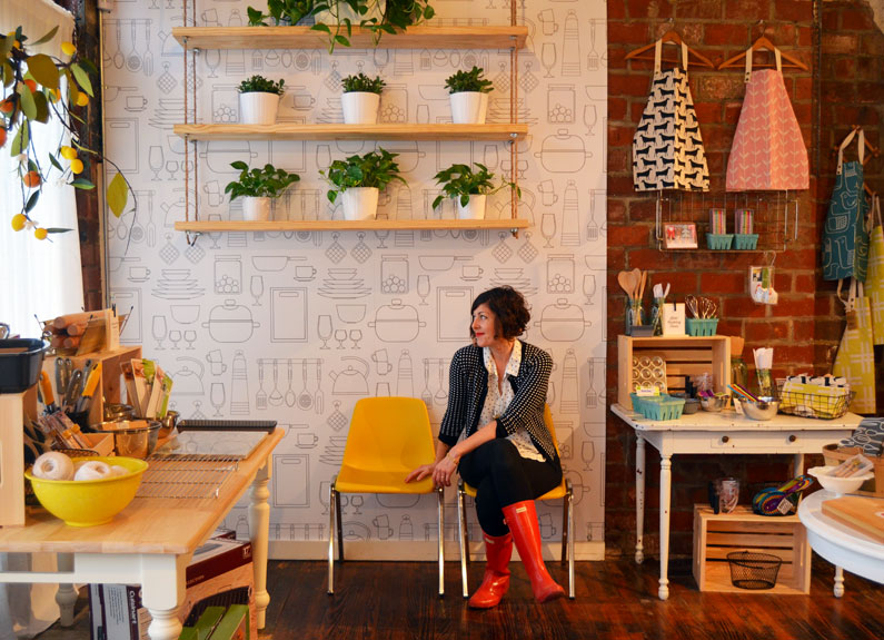 beth styles at lemon gem kitchen goods in st. louis