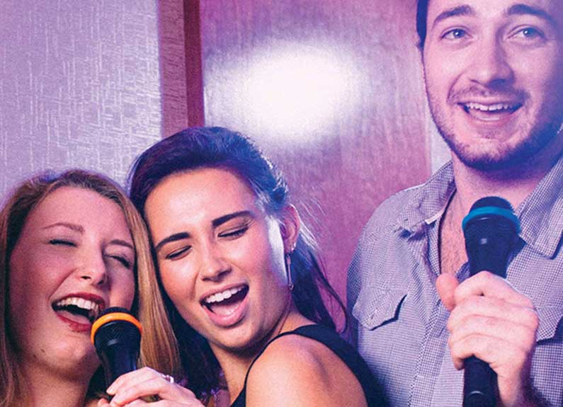 grab the mic and get down at double d karaoke in brentwood forest
