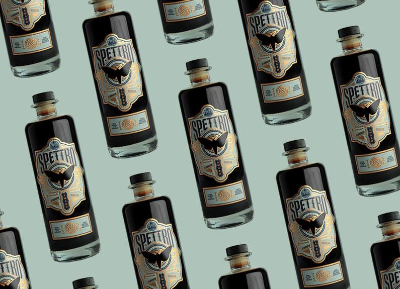 bottles of amaro