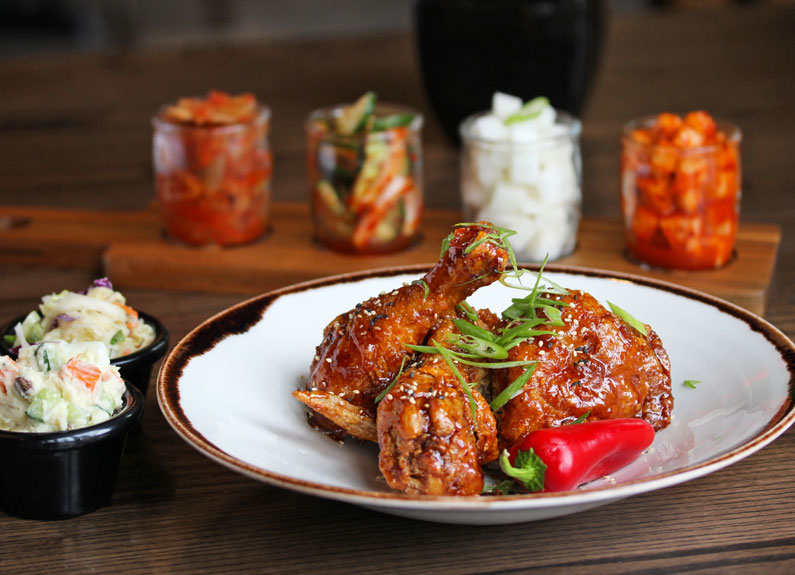 korean fried chicken from kimchi guys opening in downtown st. louis