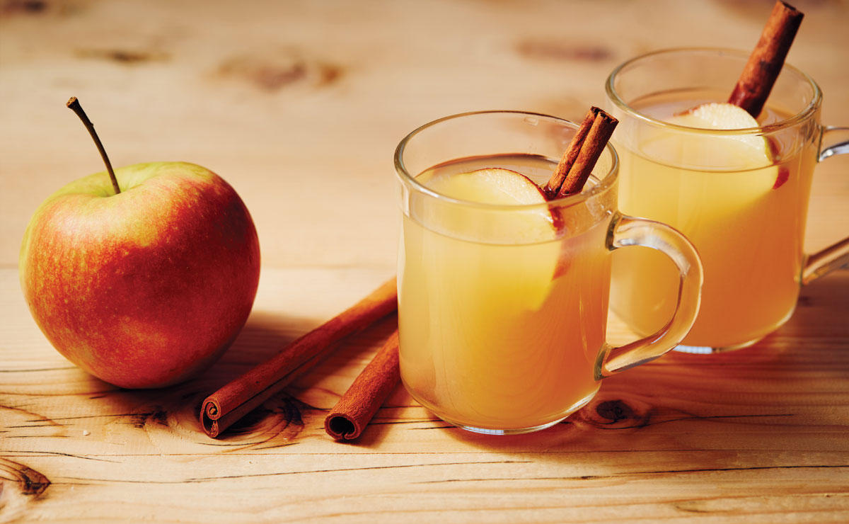 Charles Phan's Hot Buttered Rhum Cider recipe