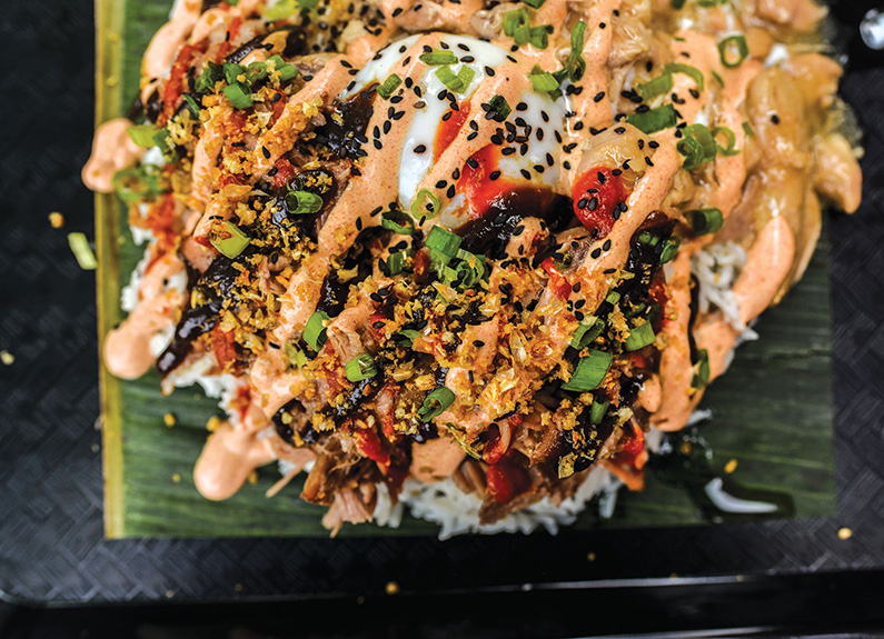 a filipino rice dish