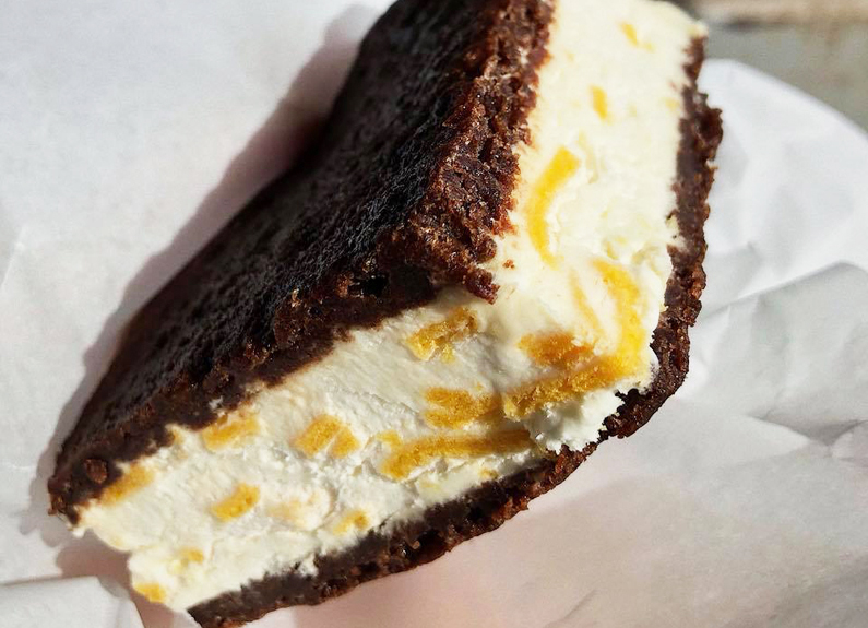 fortune cookie ice cream sandwich